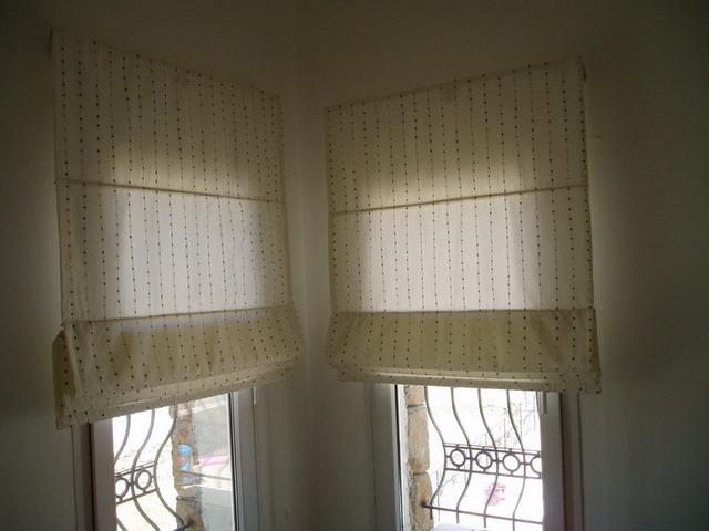 Roman curtain blinds curtains center